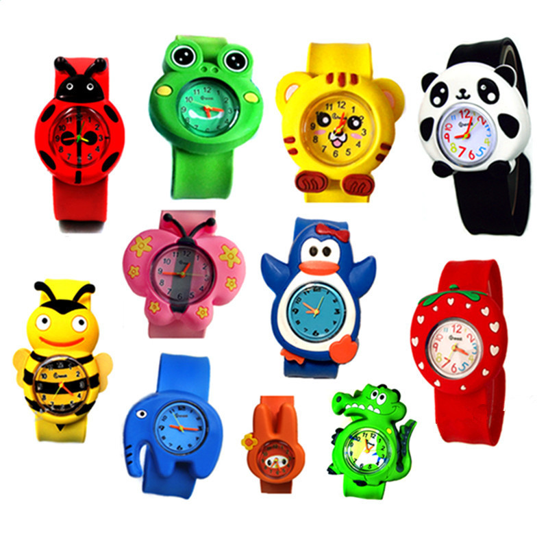 Baby Watch Wrist Boys Gifts Girls Kids Quartz Cartoon 3D