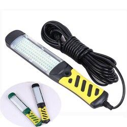 Lampe de travail Portable Super brillante, lampe de travail d'urgence à LED, COB 80 LED, pour Inspection de voiture, lampe de travail Portable suspendue