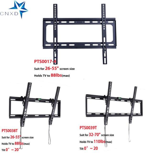 Universal TV Wall Mount Bracket Flat Panel TV Frame for 26 to 55 Inch LCD LED Monitor TV Bracket
