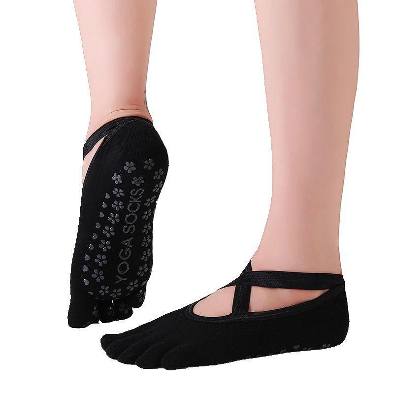 Cotton Yoga Socks Women Anti Slip Dance Professional Ballet Heel Protector Female Sports Dancing Calcetines Medias Pilates Socks
