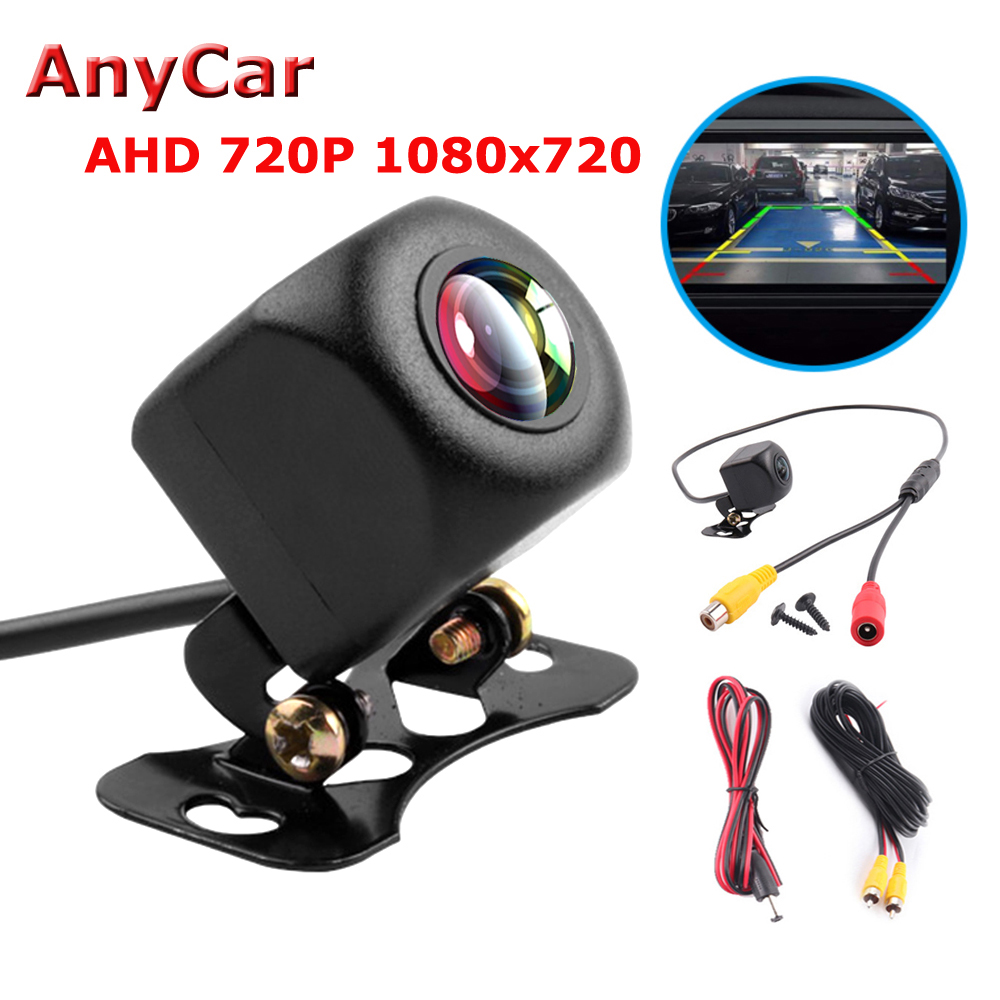 HD Auto Rear View Camera Car Back Reverse Camera Fish Eyes Night Vision HD Parking Assistance Camer 170 Degree Angle title=