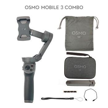 DJI-Osmo Mobile 3, Combo / osmo mobile 3 para teléfonos inteligentes con funciones inteligentes que proporcionan estabilidad