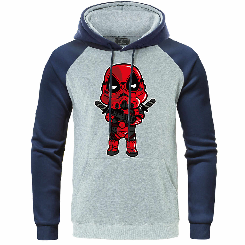 Deadpool bluza raglan z kapturem mężczyźni superbohater bluzy śmieszne Hipster bluza z kapturem 2020 wiosna jesień pula śmierci hiphopowy sweter