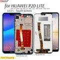 Дисплей для Huawei P20 P 20 Lite ANE-LX3,LX1/Nova 3e ЖК-дисплей сенсорный экран дигитайзер замена проверенный телефон ЖК-экран