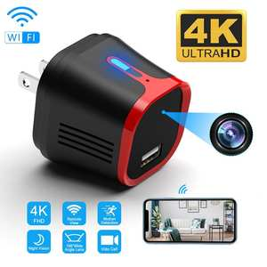 Camcorder 4K Usb-Charger Wifi-Camera Secret Night-Vision Motion-Detect Security Wireless
