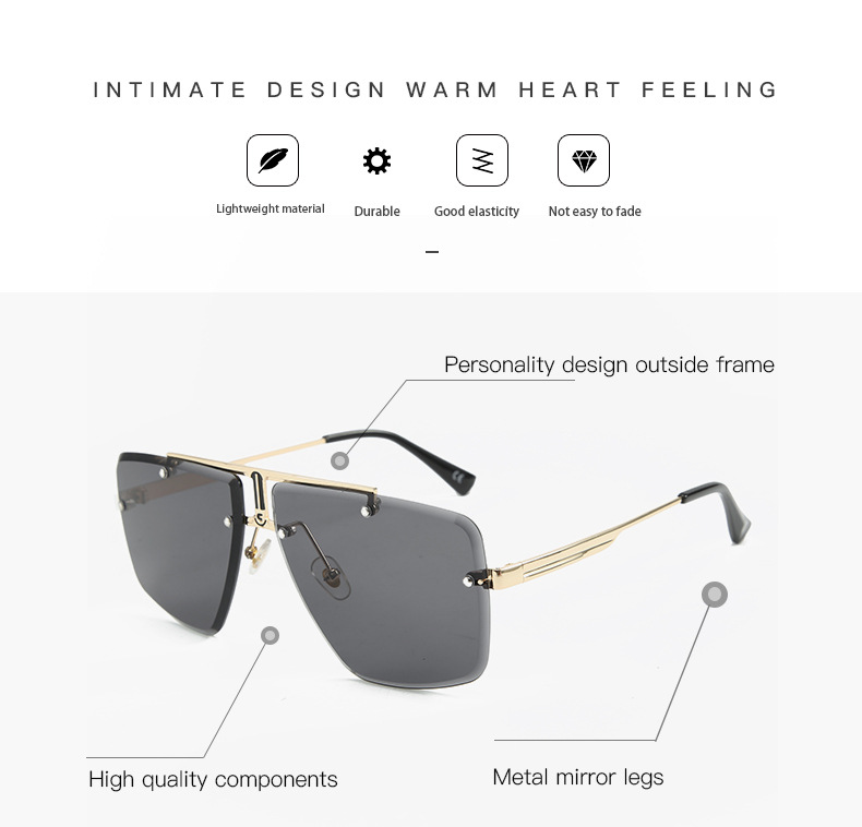 Hdce67a8ed68d46adb5371d63c724857cj - Square Rimless Sunglasses Men Summer New Fashion Sun Glasses Fashion Luxury Brand Shades for Women UV400 zonnebril Eyewear