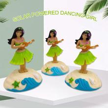 Автомобильные аксессуары для интерьера, модная Танцующая девочка на солнечных батареях, качающаяся анимированная игрушка, танцующая игрушка, украшение автомобиля, детские игрушки, подарок