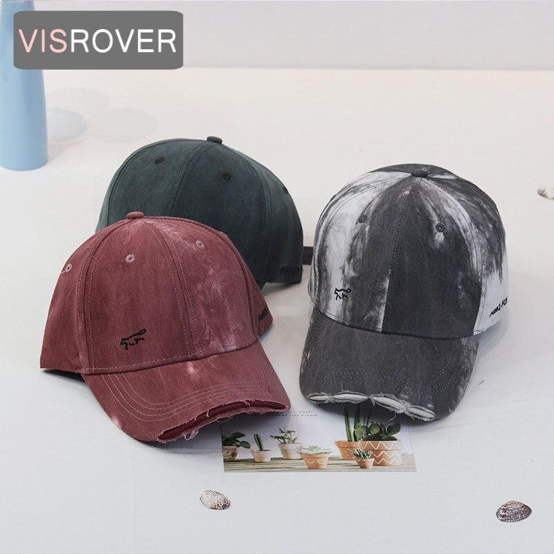 VISROVER New Unisex Summer Hats For Women Visors cotton Baseball Caps Girls Hat Solid Color cap Bonias Feminile Top Quality Gift