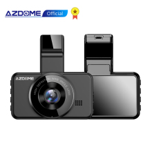 Car DVR Video-Recorder Parking-Monitor Dash-Cam ADAS Black Azdome M17 Dual-Lens Wifi