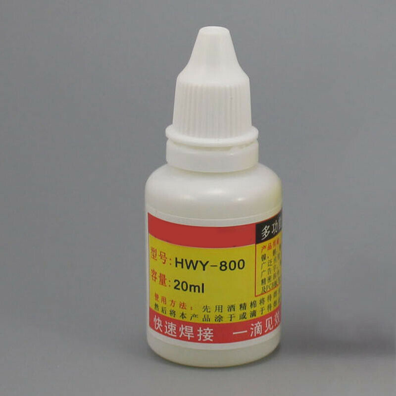 HWY-800 Stainless Steel Flux Welding Liquid Non-toxic Copper Consumables