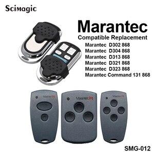Image 5 - Marantec 디지털 868 MHz 차고 문 게이트 원격 제어 키 fob MARANTEC 핸드 헬드 송신기 차고 명령 컨트롤러 868.3