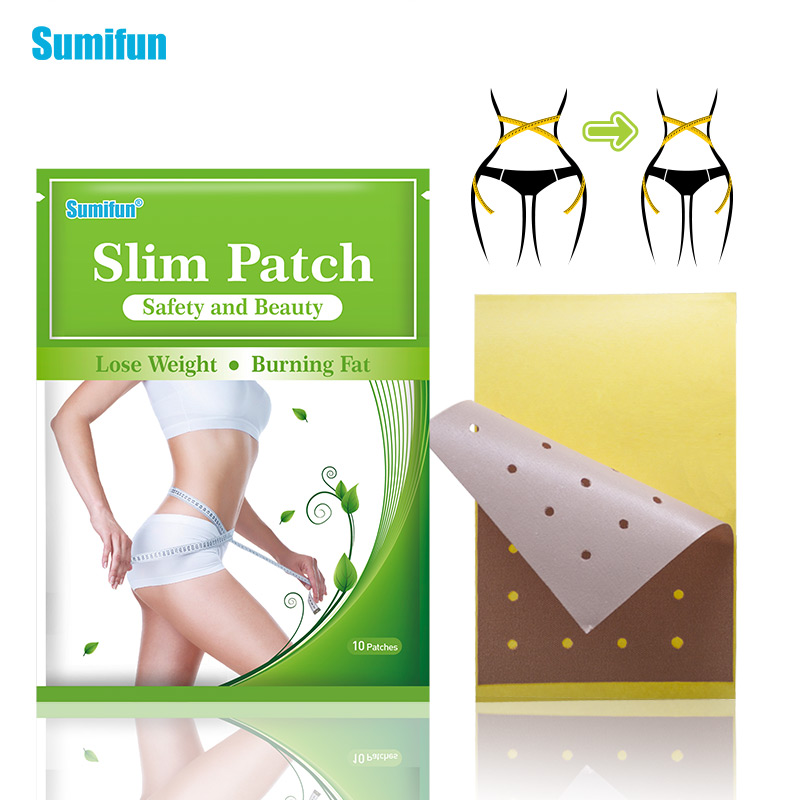 20pcs/2Bags Slimming Patch Slim Navel Stick Diet Products Weight Loss Burning Fat Patches Hot Body Slim Patches D2146 image