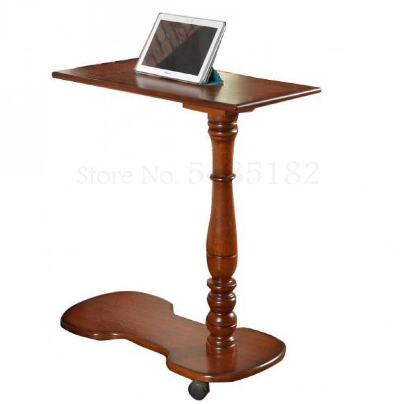 Мобильный прикроватный компьютерный стол вращающийся на 360 градусов прикроватный столик ленивый блокнот Универсальный прикроватный столи...