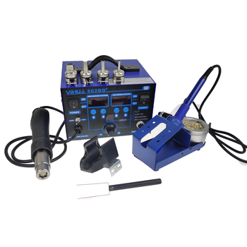 high-power disassembly welding table YIHUA862BD+ two-in-one digital display anti-static air gun hot - sale item Welding Equipment