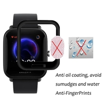 Protective-Film Screen-Protector Amazfit Bip Smartwatch-Display Full-Coverage 3D