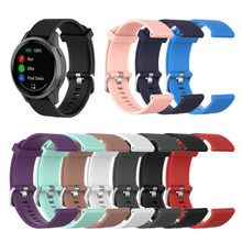 Siliconen Vervanging Band Polsband Compatibel Voor Garmin Vivoactive 4 Polsband Horloge Band Fitness Tracker # E25(China)