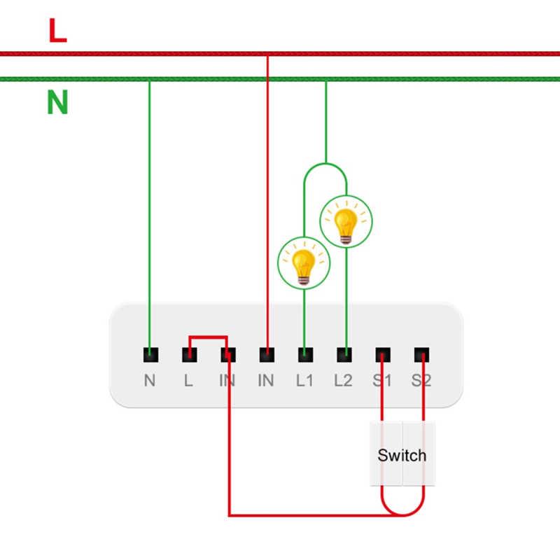Módulo de Control de vía de dos canales Original Aqara, controlador de Relé inalámbrico doméstico inteligente de 2 canales para aplicación de hogar inteligente Mijia