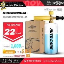 1L Snow Foam Lance Soap Foamer Sprayer Foam Generator Foam Gun for Karcher K2 K3 K4 K5 K6 K7 High Pressure Car Washer Auto