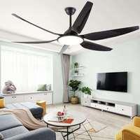 Ländlichen Amerikanischen esszimmer lichter große größe speisesaal esszimmer wohnzimmer frequenz umwandlung fernbedienung LED fan lig-in Deckenventilatoren aus Licht & Beleuchtung bei