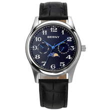 Men's Watches Moon Phase Quartz Watch For Men Sport Waterproof Montre Homme Calendar Wristwatch Relogio Masculino Male Clock