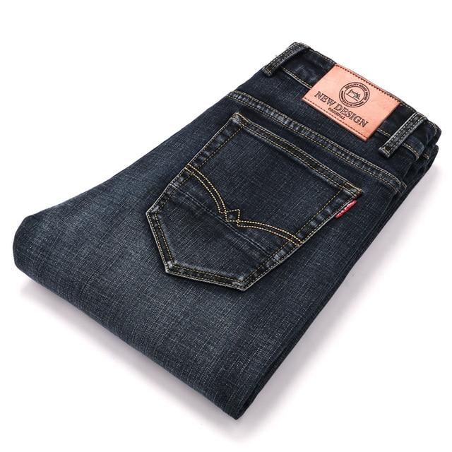 2020 New Design Jeans Mens Pants Cotton Deniem Classic Trousers Casual Stretch Slim High Quality Black Blue Multiple Styles 6