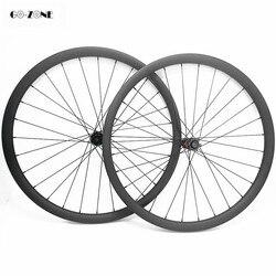 29 cal rower górski asymetryczne 30x35mm jestem bezdętkowe węglowe koła DT240S 110x15 148x12 disc mtb koło karbonowe filar 1420 szprychy w Koła roweru od Sport i rozrywka na