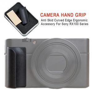 Image 2 - אנטי החלקה אבזר ארגונומי סיליקון מעוקל קצה עמיד מצלמה יד אחיזה מקצועי דבק עבור Sony RX100 סדרה