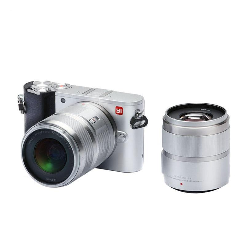 YI M1 Spiegellose Digital Kamera Prime Zoom Zwei Objektiv LCD Minimalistischen RAW 20MP Video Recorder 720RGB Internationalen Version - 2