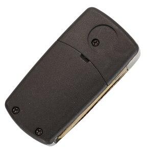 Image 5 - Bilchave Geändert 2 Tasten Flip Remote Auto schlüssel Shell Fall Für Hyundai Elantra Santa FE Atos Traje Für KIA FOB rechts Klinge