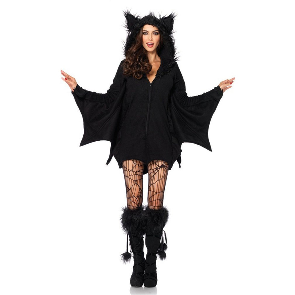 Halloween Costume Vampire Bat Costume Demon Suit Cat Hair Cat Kitten Cosplay Masquerade Uniform Cosplay Halloween