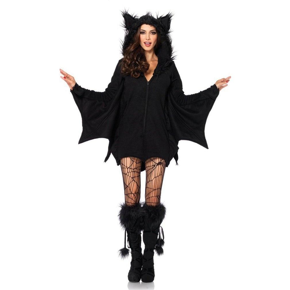 Halloween Costume Vampire Bat Costume Demon Suit Cat Hair Cat Kitten Cosplay Masquerade Uniform Cosplay Halloween