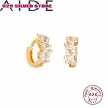 Aide 925 стерлингового серебра серьги классические Серьги с