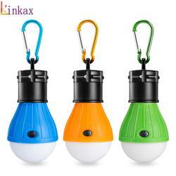 Mini 3 AAA Tragbare Laterne Zelt Licht Led-lampe Notfall Lampe Wasserdichte Hängen Karabiner Taschenlampe Für Camping