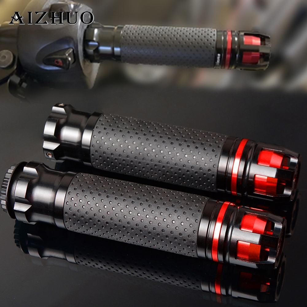 CNC Motorcycle Accessories Handle Grips Handlebar Hand Bar Grip FOR DUCATI MONSTER S2R 800 821 797 695 696 796 400 M400