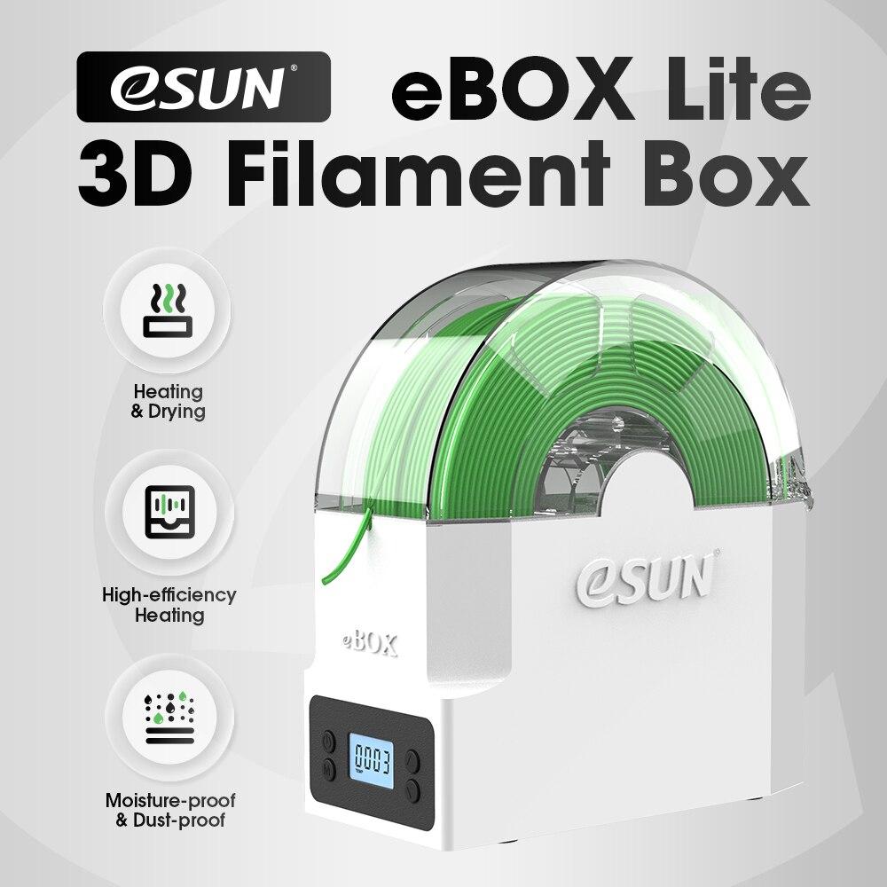 Сушилка для наполнителя eSUN eBOX Lite 3D, коробка для сушки нити, контейнер для хранения, держатель для наполнителя, бесплатные инструменты для 3D-п...