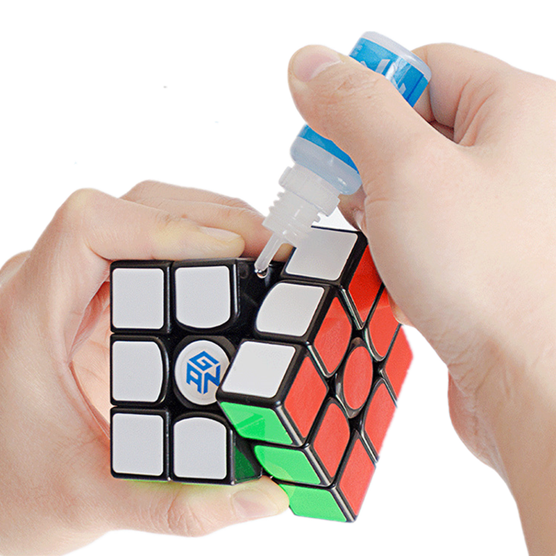 Qiyi Speed Magic Cube Lube GAN Cube Lube Cube Lubricant  M-lube Cube Oil 1pc GAN Y Tool 5 Pcs Mixing Colors High Quality Stands