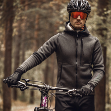 Bike-Clothing Cycling-Jackets 9C01102 Santic Winter Windproof Men Asian-Size Polar-Fleece