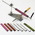 Система заточки ножей ruixin pro  точильный камень  мелкая и крупная расческа  шлифовка 240 600 1000