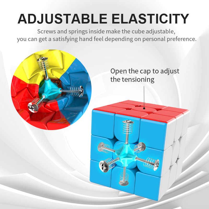 Moyu Meilong 3C 3x3x3 волшебный куб WCA 3-слойный кубик Профессиональный скоростной пазл 3x3 волшебный кубик игрушки антистресс детский подарок игрушка
