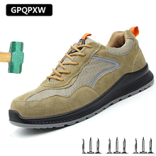 6KV Insulation Anti-puncture And Puncture Safety Shoes Summer Breathable Fashion Work Non-slip Wear-resistant Mens Boots
