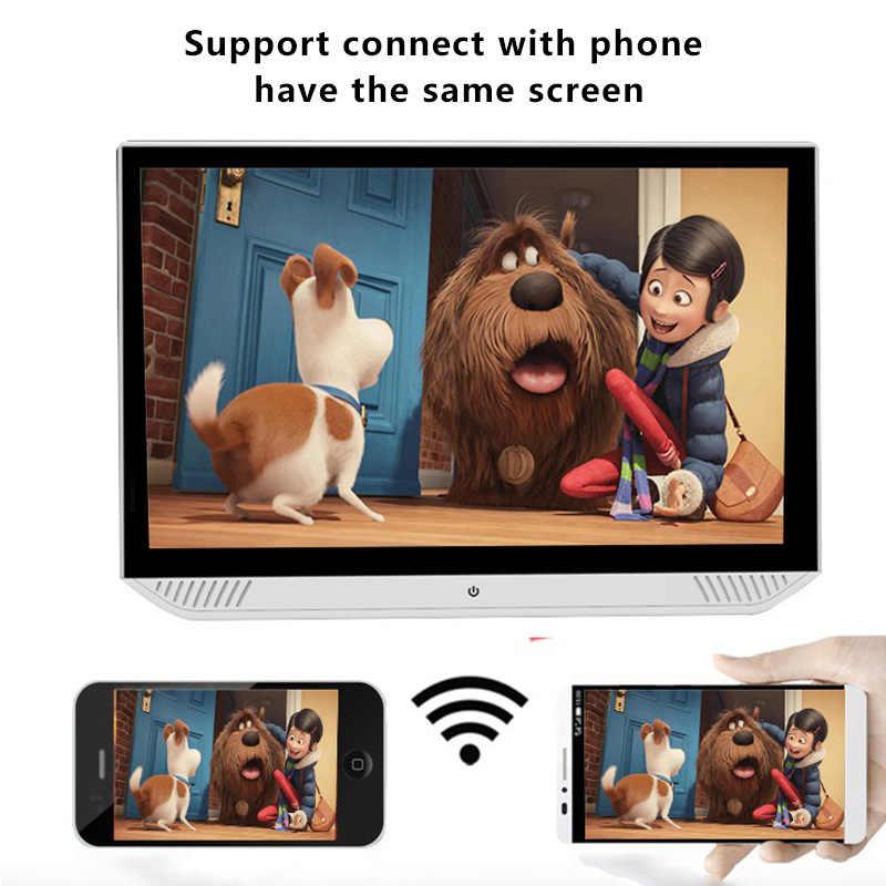 13.3 بوصة أندرويد 9.0 2GB + 32GB سيارة راصد مسند الرأس 4K 1080P شاشة تعمل باللمس واي فاي/بلوتوث/USB/SD/HDMI/FM/مرآة لينك/Miracast