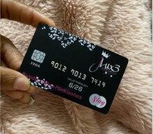 Tessere Hico + codifica e di codici a barre 128 e spedizione rilievo Serialbusiness carte Personalizzate IN PVC Carta VIP e di credito di Plastica carta