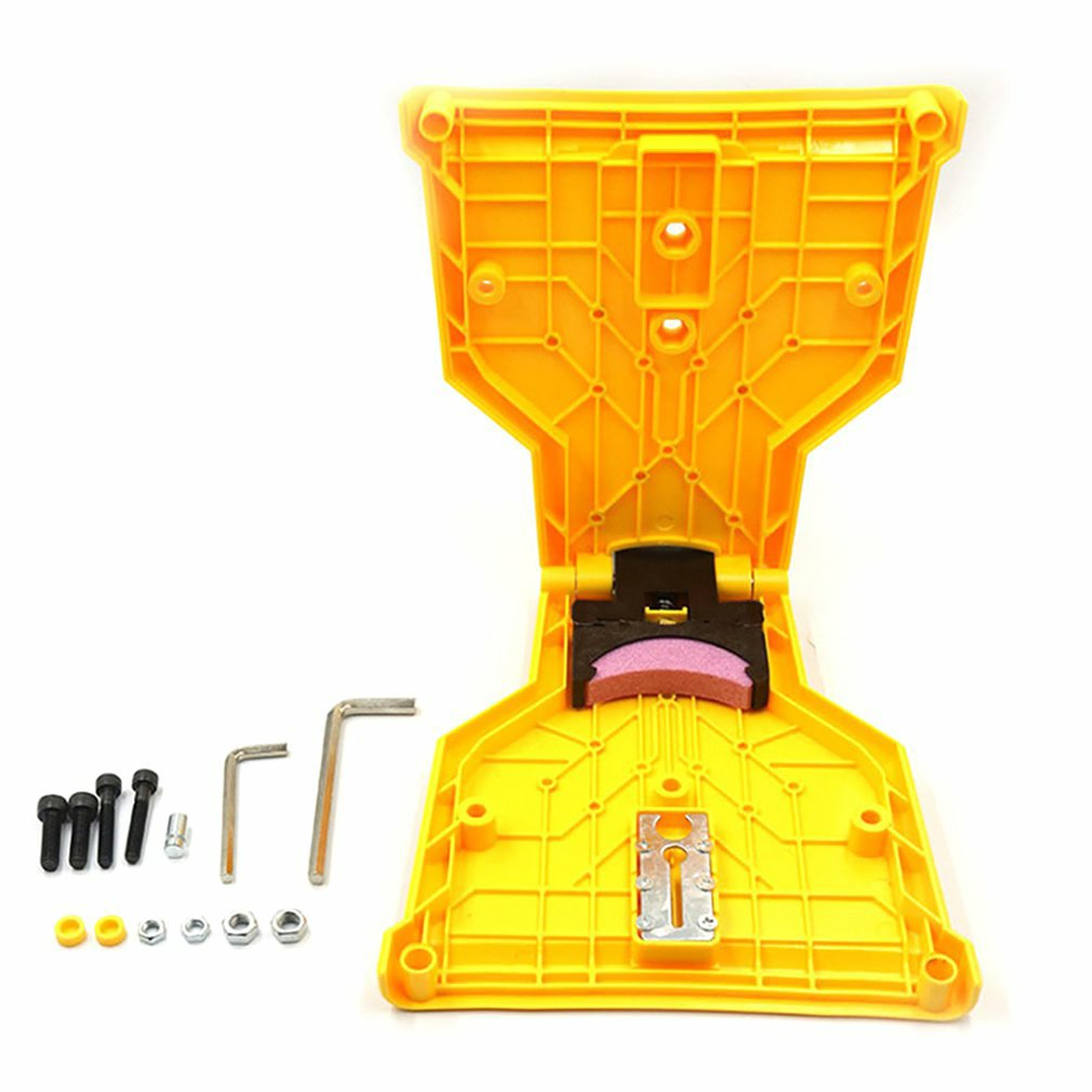 Teeth Sharpener Saw Chain Sharpener Bar-Mounted Fast Grinding Electric Power Chainsaw Chain Sharpener Woodworking Tools 1PCS
