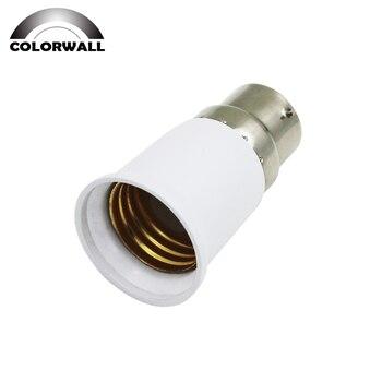 E27 para b22 baioneta parafuso luz base do bulbo soquete adaptador conversor para led lâmpada luz soquete acessórios de iluminação