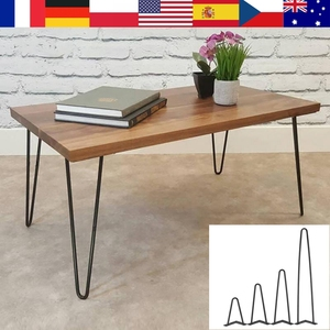 4Pcs Iron Metal Table Desk Legs Home Accessories for DIY Handcrafts Furniture 8/12/16/28inch Table and Sofa Furniture Table Leg(China)