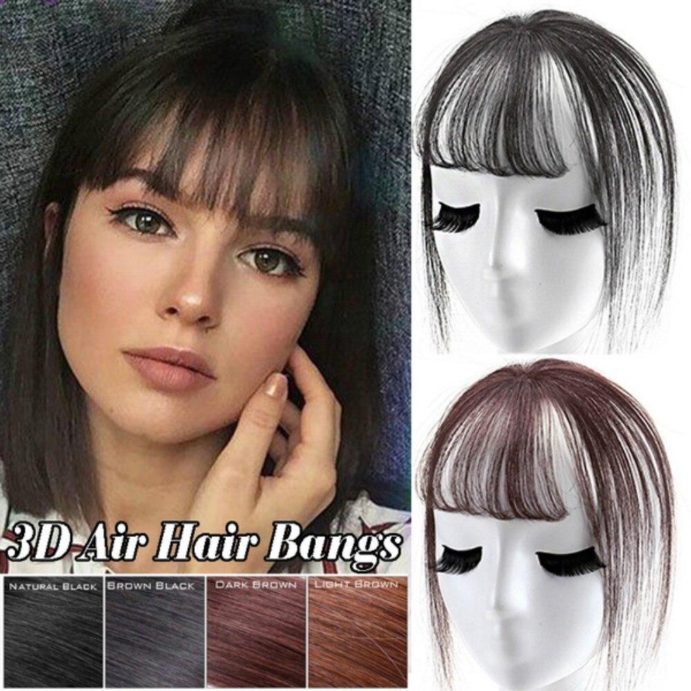 Купить модные 3d челки 6 дюймов женские короткие искусственные волосы