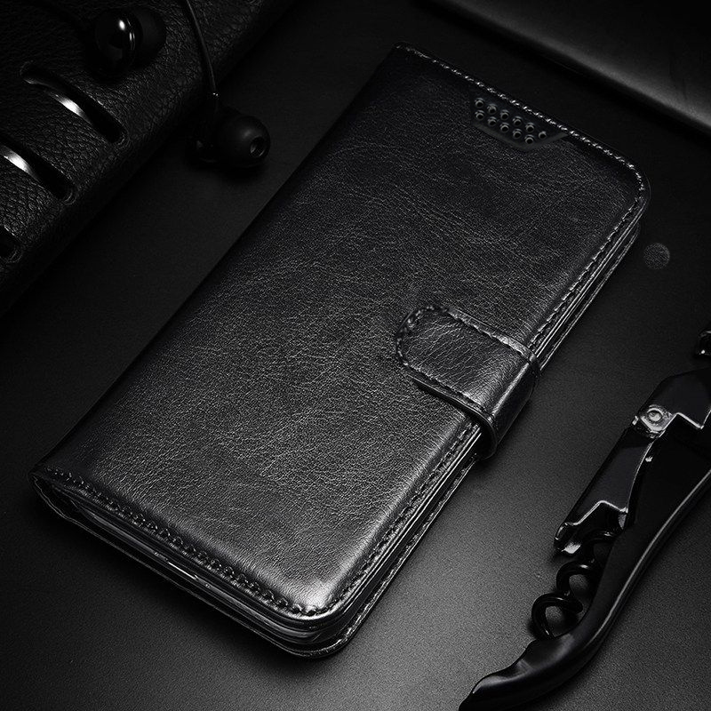 Wallet Leather Case For Motorola Moto One Power Hyper Vision Macro Action X4 G G8 Stylus E7 Edge Plus Burton Case Soft TPU Cover