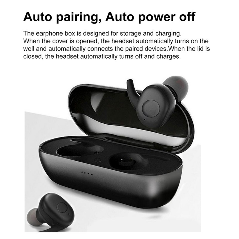DT-1 TWS Bluetooth Earphone 5.0 Wireless Earphones Stereo Waterproof Earbuds for Xiaomi Redmi iPhone SamSung