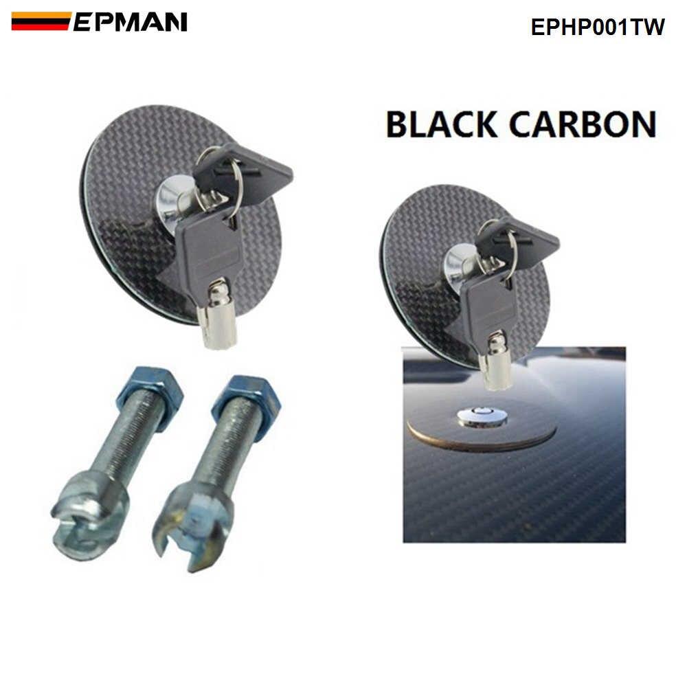 Hood Inner Radiator Cover Cooling Slam Panel For Honda Civic EK Carbon Fiber