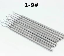 9 шт инструмент для чистки зубных зубов 1 # удаления пятен от